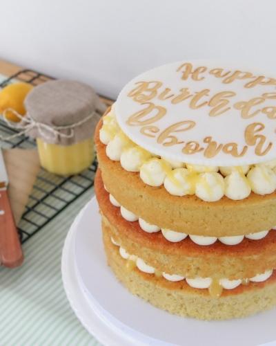 Lemon-Drizzle-Birthday-Cake-Honey-Lane-Bakery-Henley-1-scaled